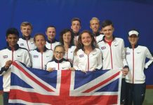 GB squad european deaf tennis championships