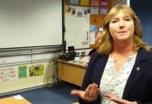 derby deaf school woman classroom
