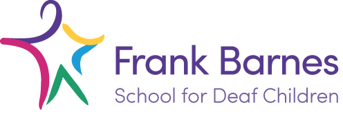 Logo - Frank Barnes School for Deaf Children