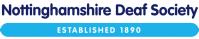Nottinghamshire Deaf Society - logo