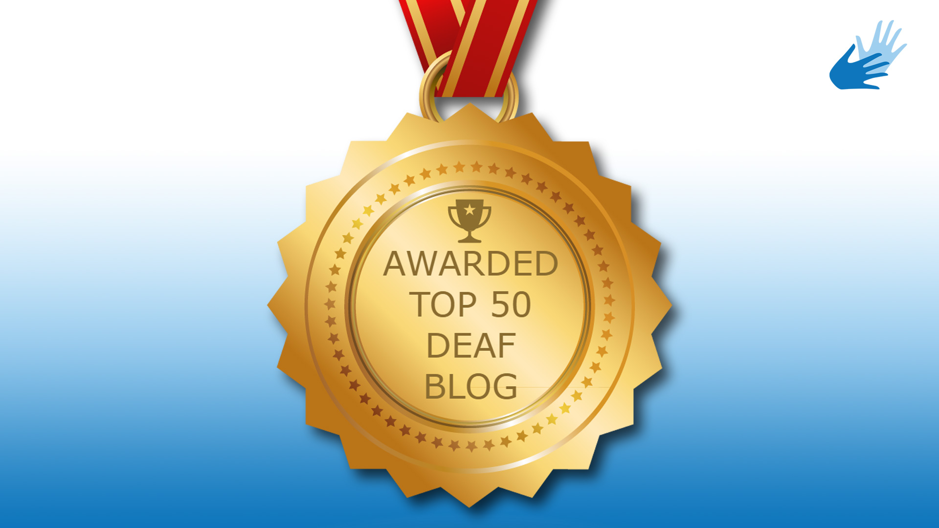 BDN is the Top 50 Deaf Blogs on the web!