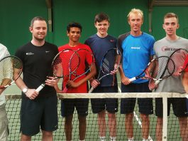 GB Tennis Team Deaflympics 2017