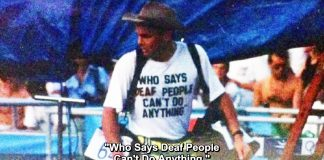 Who says deaf people can't do anything? - Dean Barton-Smith